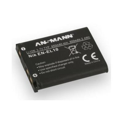 Ansmann A-NIK EN EL 10 - Zwart