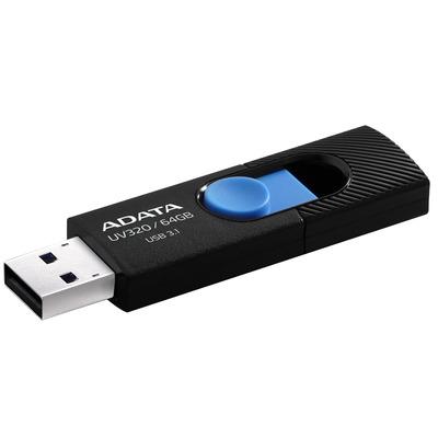 ADATA UV320 USB flash drive - Zwart, Blauw