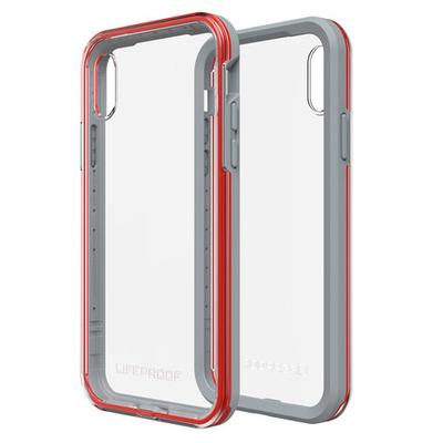 LifeProof SLΛM Mobile phone case - Grijs,Rood,Transparant