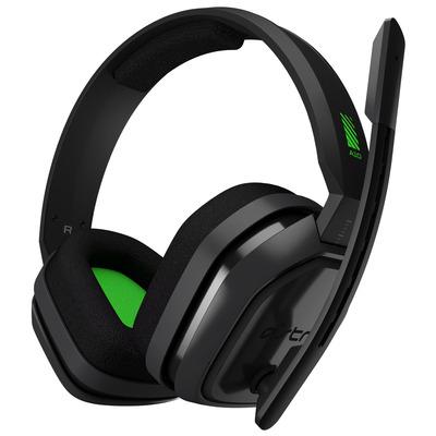 Logitech A10 Headset - Groen, Grijs