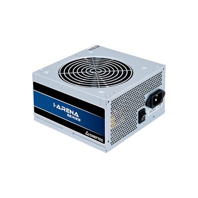 Chieftec 500W, 200-240V, 47-63Hz, ATX 12V 2.3, PS II, 120mm, Active PFC Power supply unit - Zilver