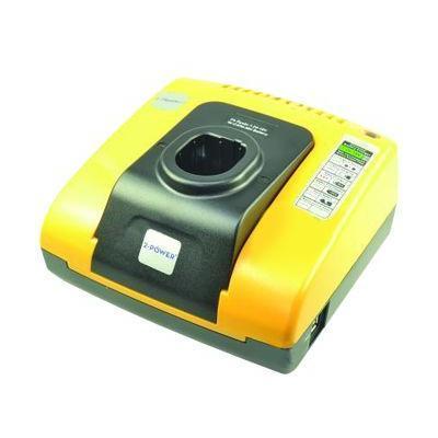 2-power oplader: Ryobi NiCd & NiMH Battery Charger, 110-240 V, 18 V, 185 x 160 x 80 mm, 866 g - Zwart, Geel