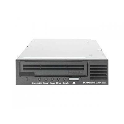 Tandberg data tape drive: LTO-6, HH, FC - Zwart