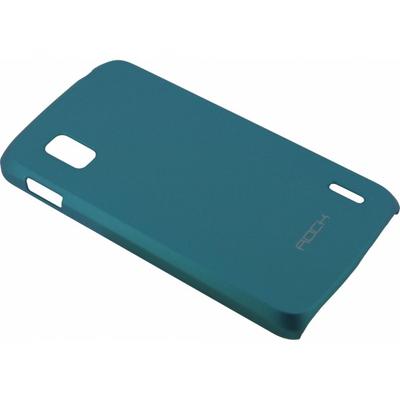 ROCK Cover Naked LG Google Nexus 4 E960, Blue Mobile phone case - Blauw