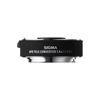 Sigma lens adapter: 1,4x Teleconverter EX DG APO Canon - Zwart