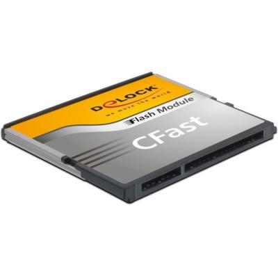 DeLOCK CFast SATA 8GB Flashgeheugen - Zwart