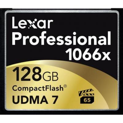 Lexar flashgeheugen: CF 128GB - Multi kleuren