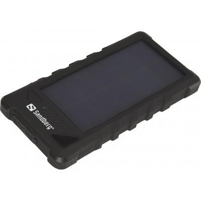 Sandberg batterij: Outdoor Solar Powerbank 16000