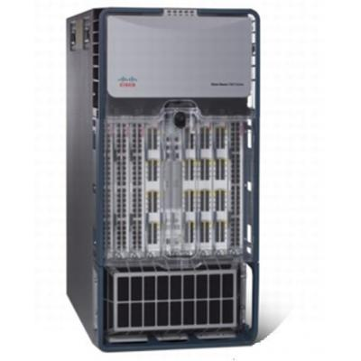 Cisco netwerkchassis: Nexus 7000 Series 10-Slot Chassis including Fan Trays, No Power Supply - Zwart