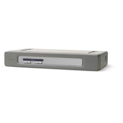 Linksys OmniView 2-Port Secure VGA & USB KVM switch - Grijs