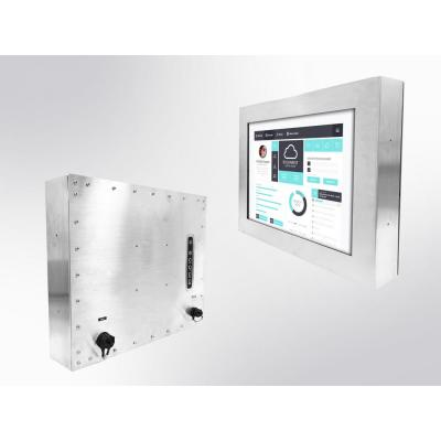 """Winsonic IP66 Chassis, 43.18 cm (17"""") LCD monitor, 1280 x 1024, LED 1000 nits, VGA input, wide temperature ....."""