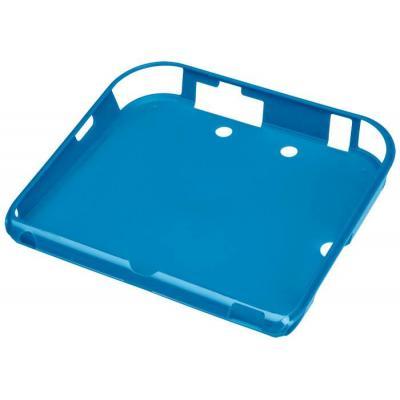 Bigben interactive portable game console case: soepele softcase Nintendo 2DS beschermhoes - Zwart, Blauw, Rood
