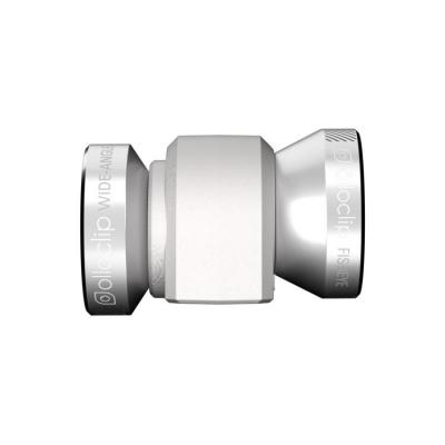 Olloclip : 4-in-1 - Zilver, Wit
