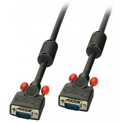 Lindy 36382 VGA kabel  - Zwart