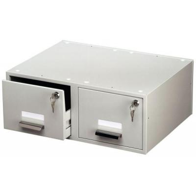 Durable Card Index Box A5 Duo