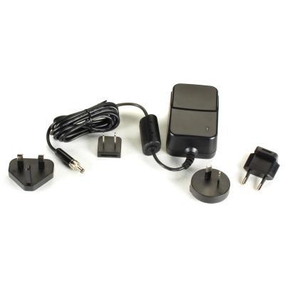 Black Box 100-240V, 47/63Hz, 0.6A, 12VDC, 56x38x84mm Black Netvoeding - Zwart