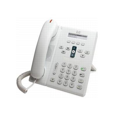 Cisco dect telefoon: Unified IP Phone 6921, Standard Handset - Wit