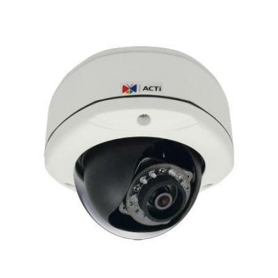 ACTi E74A 3M AdaptiveIR SuperiorWDR Beveiligingscamera - Zwart,Wit