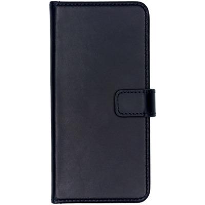 Echt Lederen Booktype Samsung Galaxy S10 Plus - Donkerblauw - Donkerblauw / Dark Blue Mobile phone case