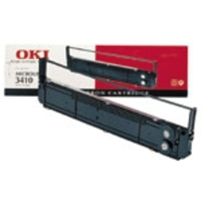 OKI printerlint: Lintcassette, 10 miljoen tekens - Zwart
