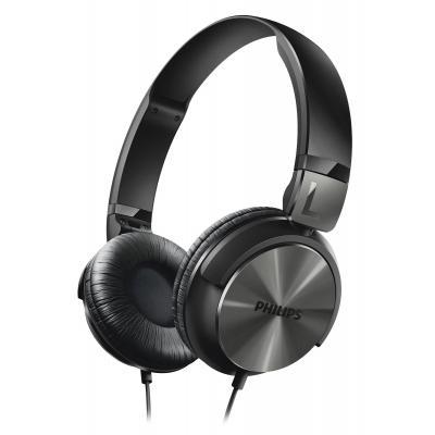 Philips koptelefoon: Hoofdtelefoon SHL3160BK/00 - Zwart