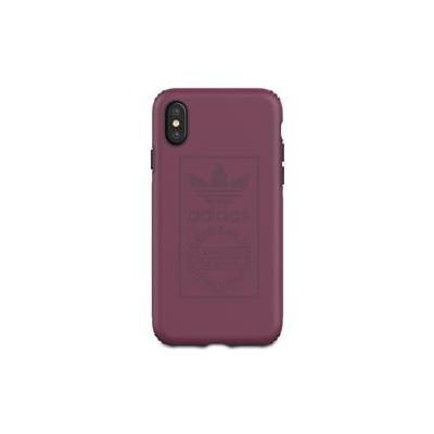 Adidas mobile phone case: Apple iPhone X, TPE - Bordeaux rood