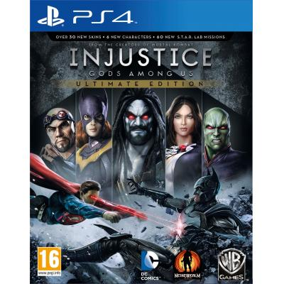 Warner bros game: Injustice: Gods Among Us (GOTY Edition)  PS4