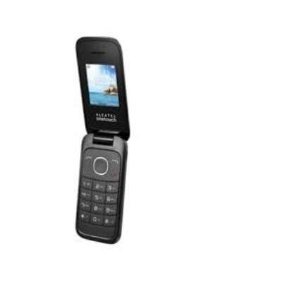 Alcatel mobiele telefoon: 1035D - Zwart