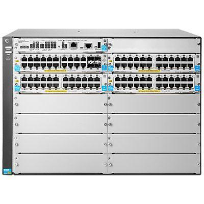 Hewlett Packard Enterprise switch: 5412R-92G-PoE+/4SFP v2 zl2 - Grijs (Renew)