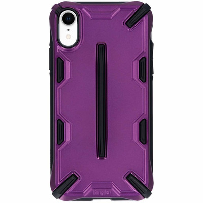 Dual X Backcover iPhone Xr - Paars / Purple Mobile phone case