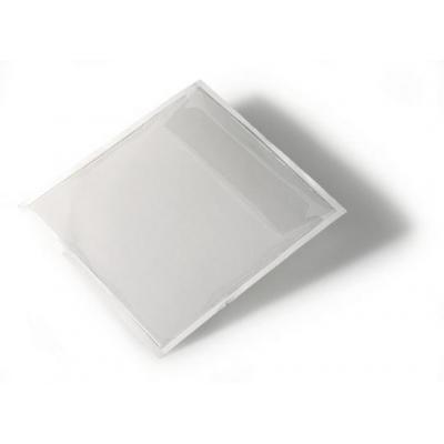 Durable etiket: Pocketfix CD - Transparant