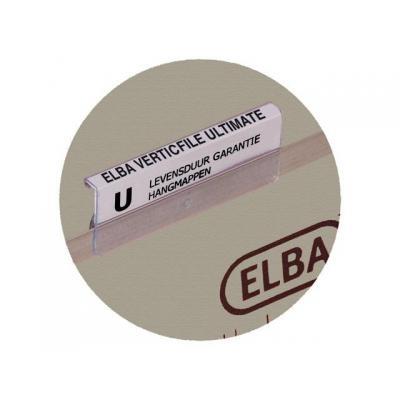 Elba etiket: PK10 VEL STROKEN VERTICF