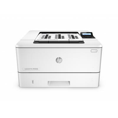 Hp laserprinter: LaserJet Pro M402dn - Zwart