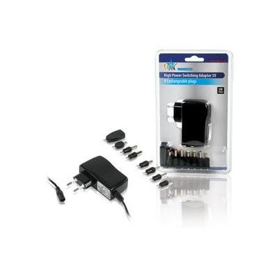 Hq netvoeding: Universal adapter - Zwart