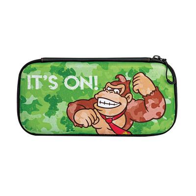PDP Slim Travel Case - Donkey Kong Camo Edition (Nintendo Switch / Lite) Apparatuurtas