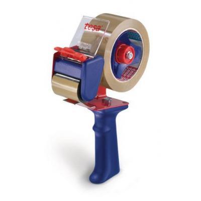 Tesa tape afroller: 6300 - Blauw, Rood