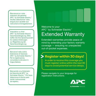 Apc IT cursus: Service Pack-01A: +3 jaar garantie upgrade