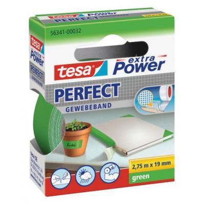 Tesa plakband: Extra Power 19mmx2.75m - Groen