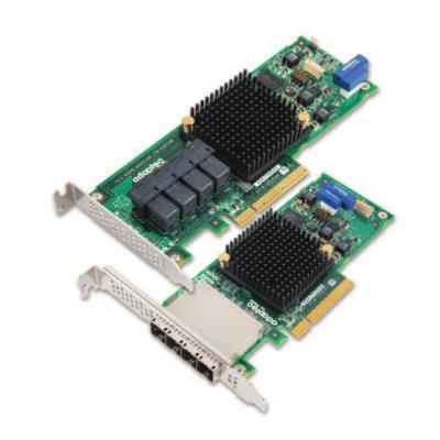 Adaptec interfaceadapter: 71605He - Groen, Grijs