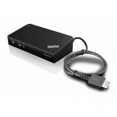Lenovo docking station: ThinkPad OneLink+ Dock – EU/INA/VIE/ROK - Zwart