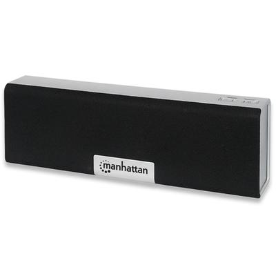 Manhattan Lyric Box Speaker - Zwart, Zilver