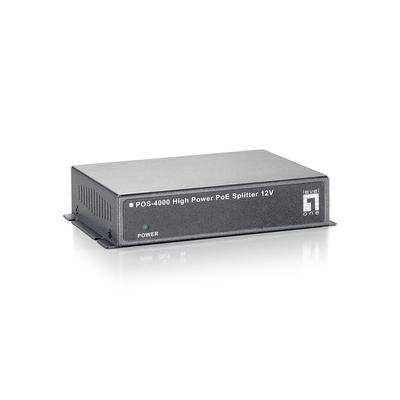 LevelOne POS-4000 Netwerk splitter - Grijs