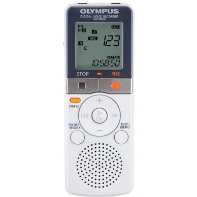 Olympus voice recorder: VN-7800 - Grijs, Wit