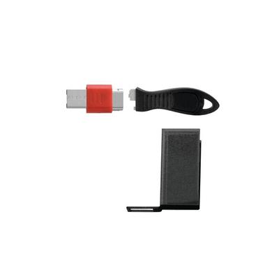 Kensington USB Port Lock met Beveiligingshouder Kabelslot - Zwart