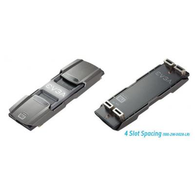 Evga wifi-versterker: SLI bridge, NVIDIA, GeForce GTX 1080/1070, 120mm, 4 slot spaceing