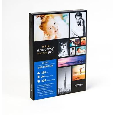 Tetenal fotopapier: SpectraJet Duo Print Paper 130gsm A4 200 sheets