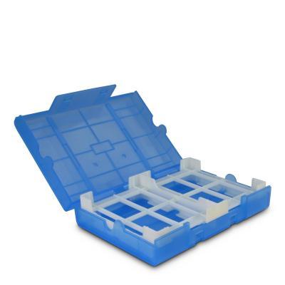 "Inter-Tech 1x 3.12.7 cm (5"") HDD / 4x 2.12.7 cm (5"") HDDs, blue - Blauw"