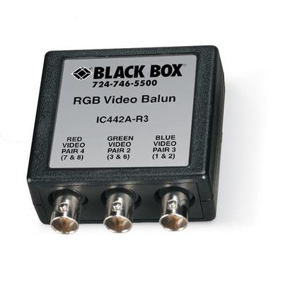 Black Box IC442A-R3 AV extender - Zwart