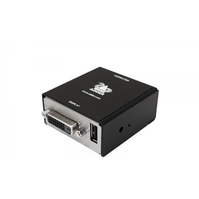 ADDER DVA, VGA to DVI-D, USB Video converter - Zwart