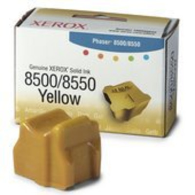 Xerox Yellow Solid Ink for Phaser 8500/8550 Inkt stick - Geel
